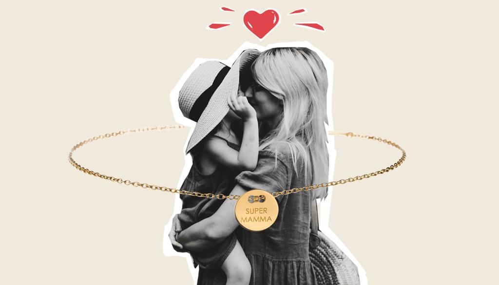 festa della mamma regalo collana braccialetto oro orecchini