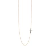 Collana Oro Croce CaterinaB