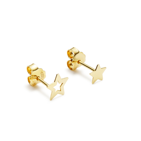 Earrings Oro Stelle