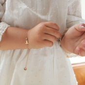 Bracelet Girl Gold Little CB Bunny