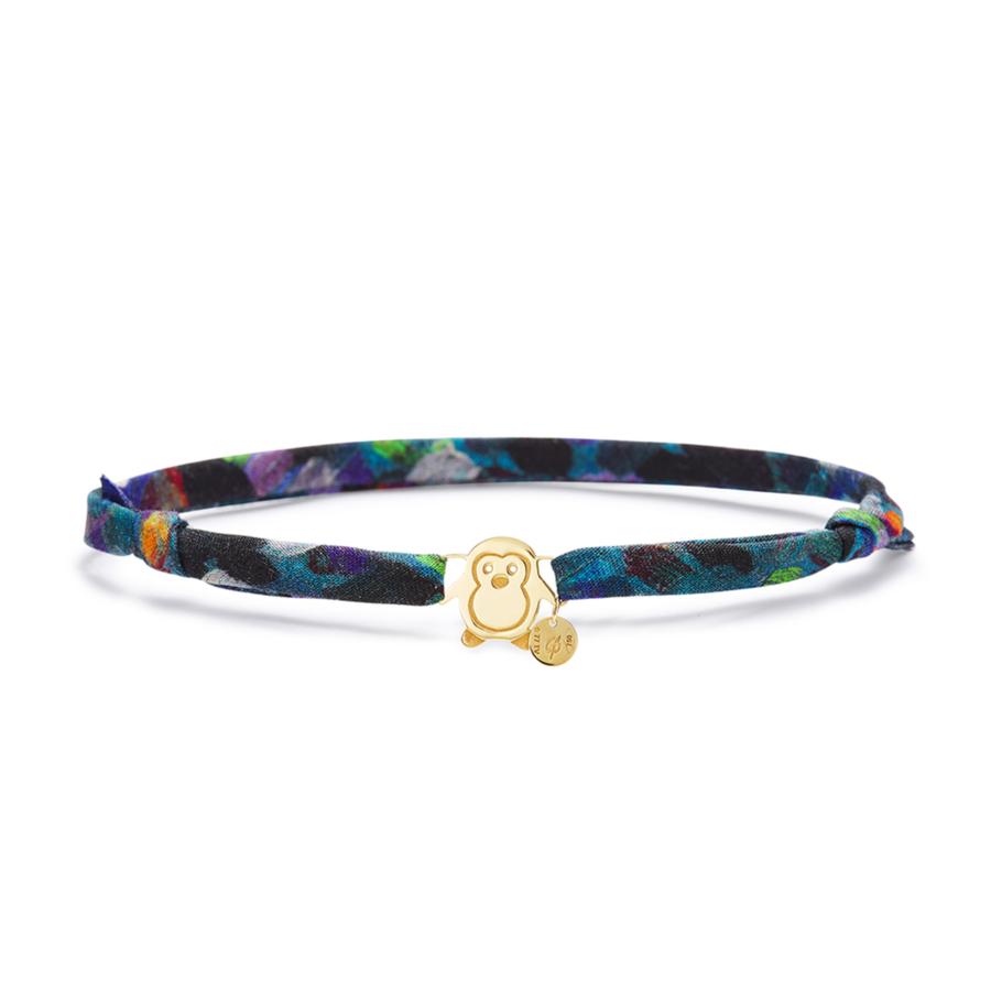 Gold Liberty Lil Penguin Bracelet