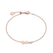 Pink Gold Sliding Elf Bracelet