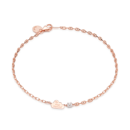 Bracelet Pink Gold Clouds