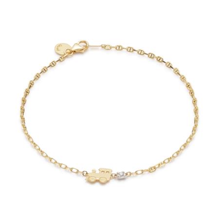 Bracelet Gold Ciuf Ciuf Trenino