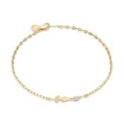 Gold Sweet Dance Ballerina Bracelet
