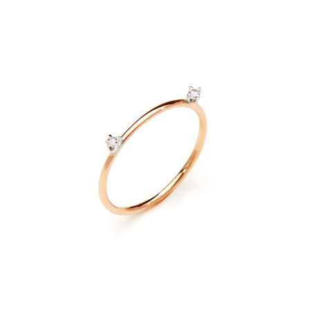 Gold Bang Ring Simmetry