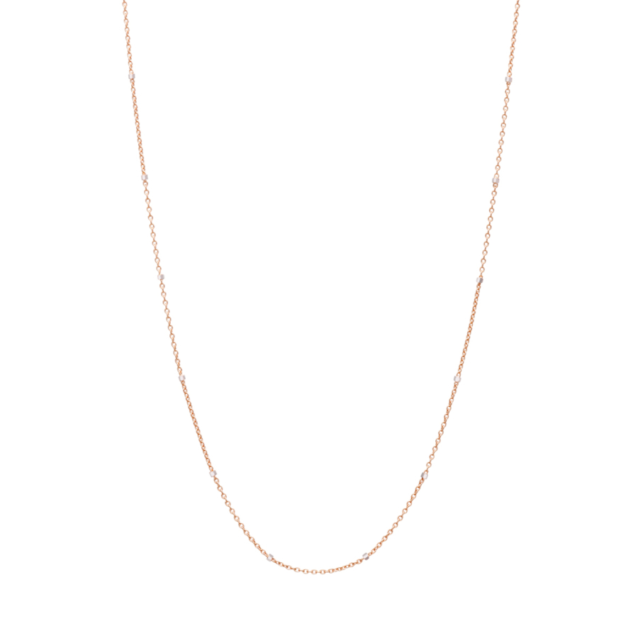 Gold Necklace Saturno