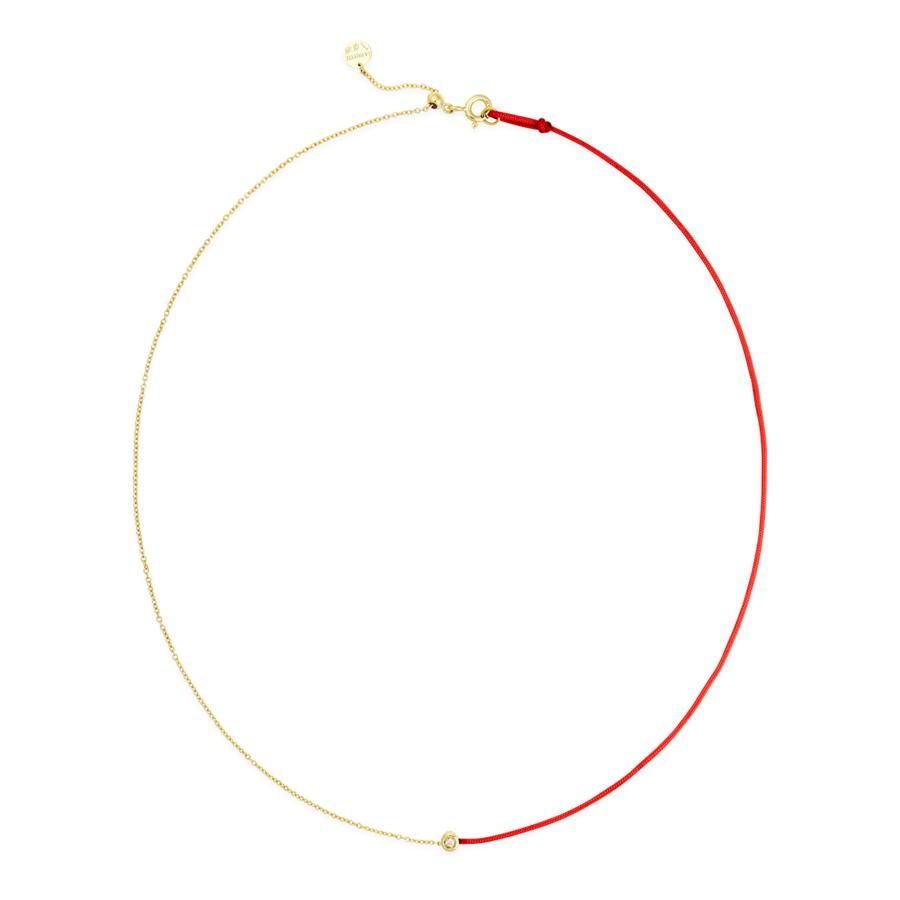 gold necklace la palette