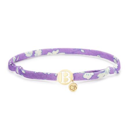 Bracelet Violet Initial